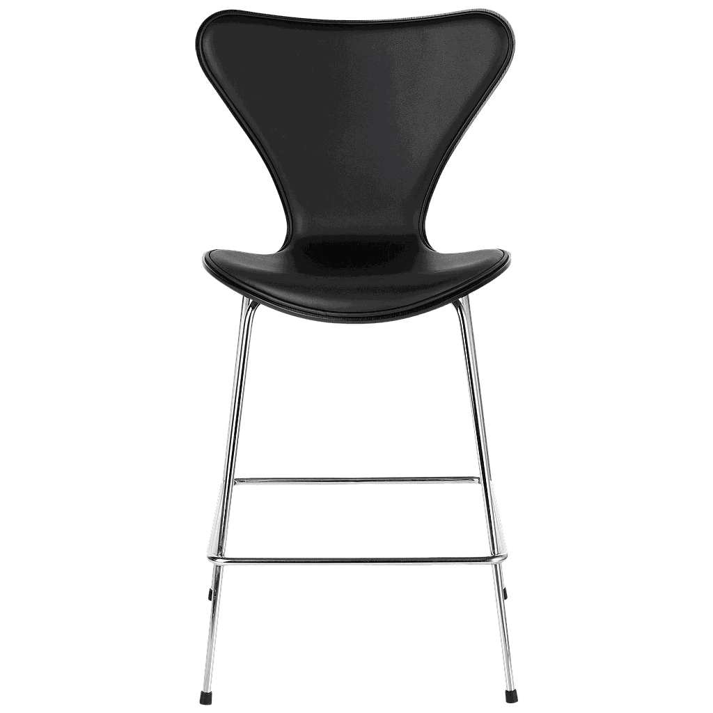 3187 - Series 7 Counter Stool Front upholstered-Lacquered