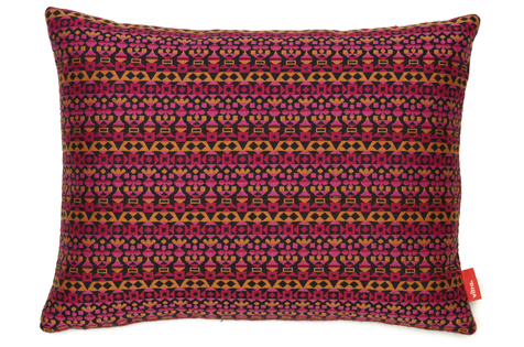 Classic Pillow Maharam / Arabesque pink orange