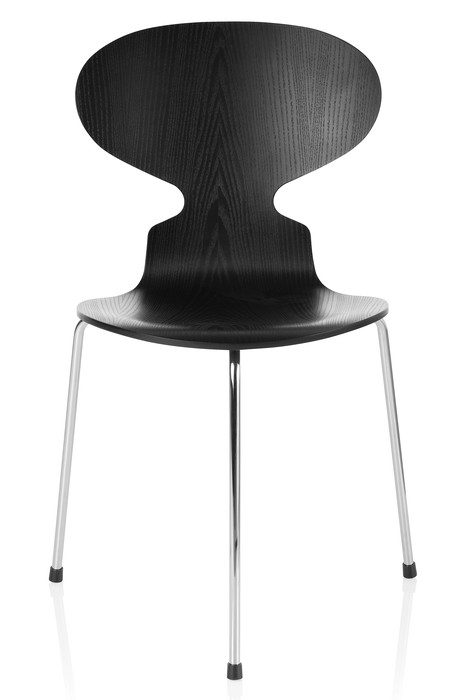 3100 - Ant Chair 3 legs / Coloured ash black