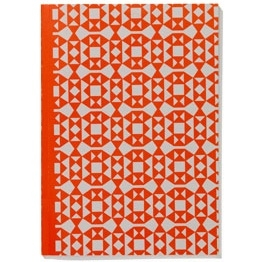 Notebook Softcover A5 / Facets Orange