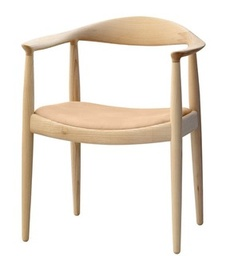 pp503 - Round Chair/The Chair Upholstered