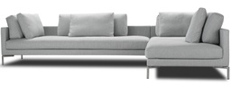 Plano Sofa 340 x 240 cm / Fabric Herring 06