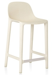 Broom Counter Stool / White