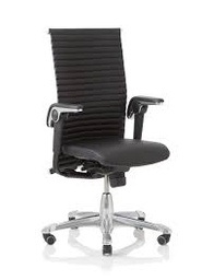HAAG Excellence 9321 / Polished aluminium / Leather Paloma Soft black